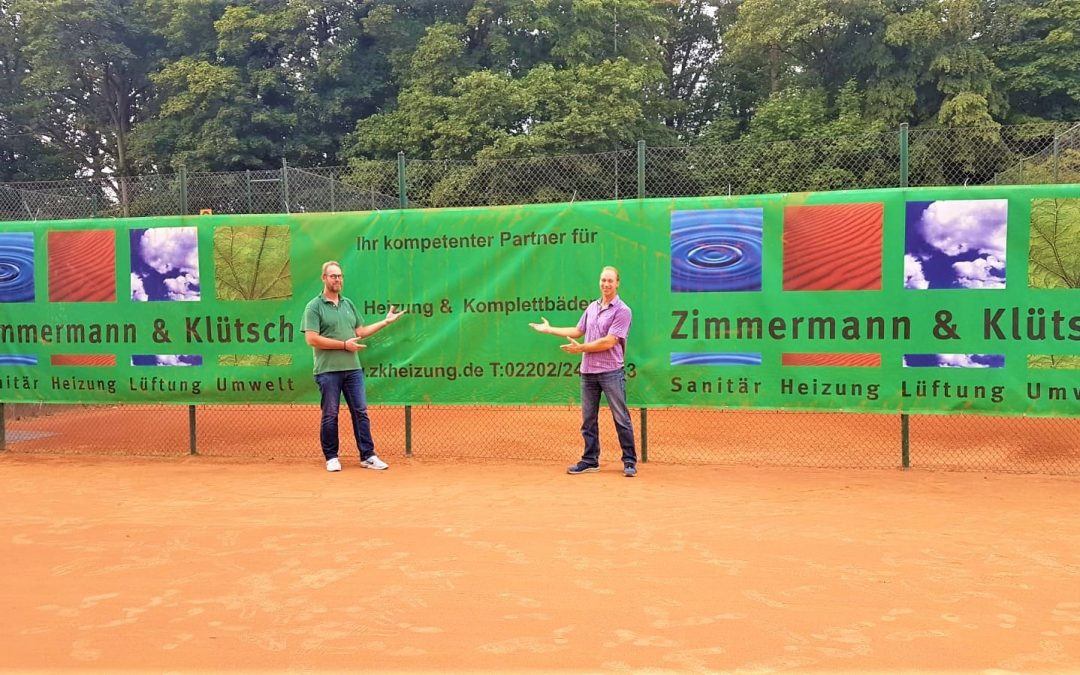 Tennisblende für den SV Refrath